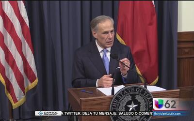 Gobernador Greg Abbott declara sesión extraordinaria en la legislatura e...