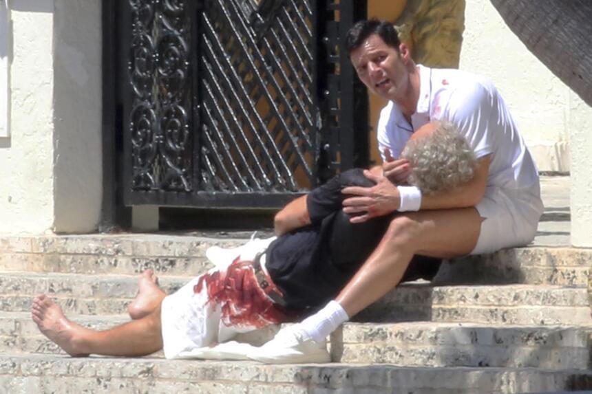 Ricky Martin sin aire, tras intentar devolver a la vida a 'Gianni Ve...