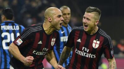 Milan ganó con claridad 'derby' ante Inter
