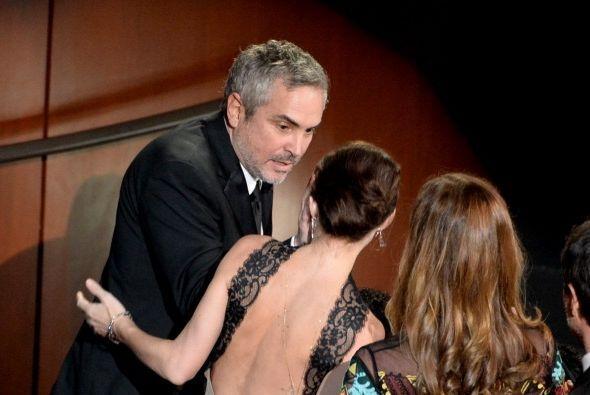 """Y este es el señor de la noche. Alfonso Cuarón era """"el niño de la fiesta..."""