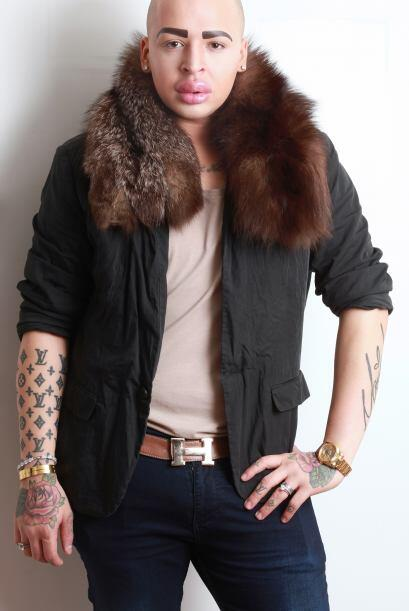 Jordan Parke, el chico que quiere ser como  Kim Kardashian.
