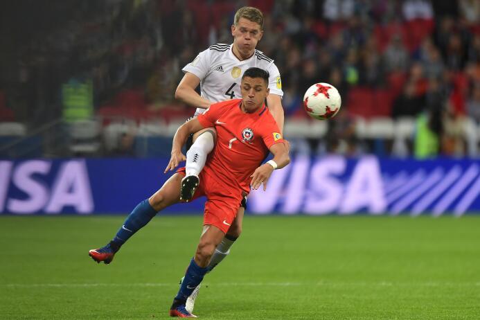 Chile y Alemania igualaron por 1-1 en la segunda jornada del grupo B de...