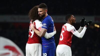En fotos: Arsenal le ganó el derbi londinense al Chelsea y recortó diferencia en la búsqueda del cupo a Champions