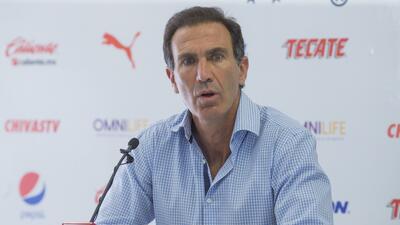 En fotos: Las caras de Francisco Gabriel de Anda en la conferencia de prensa