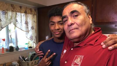 Abel nos dio un tour por su casa y lo orgulloso que está de sus hermanos
