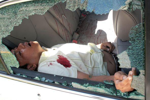.Veinticinco de los sospechosos murieron el jueves durante el allanamien...