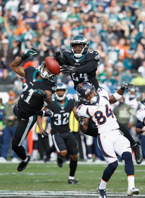 Los Eagles propinan paliza a Broncos y están imponentes en la NFL patric...
