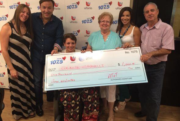 Felicidades a las madres ganadoras de $1000 dolares en nuestro concurso...