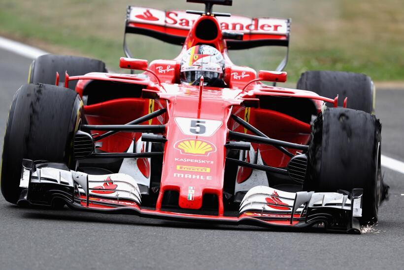 Lewis Hamilton gana por cuarta vez consecutiva el GP de Gran Bretaña Seb...