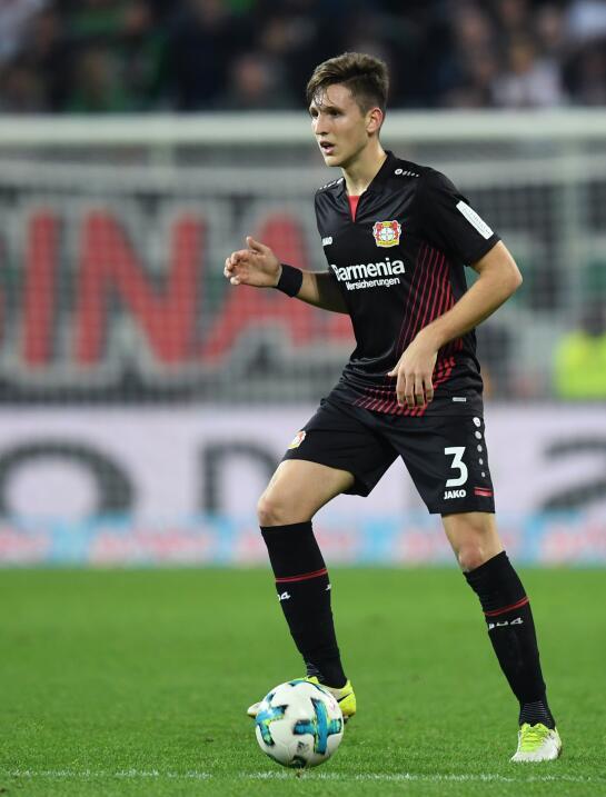 20. Panagiotis Retsos (Grecia / Bayer Leverkusen)