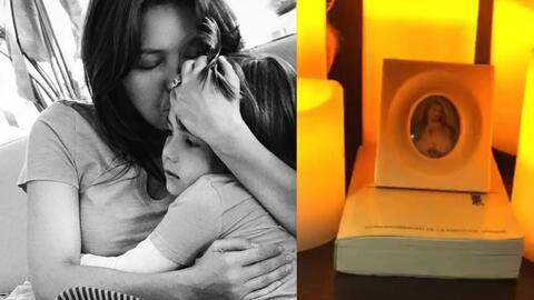 Thalía rezó de madrugada por todas las víctimas y familias en México.