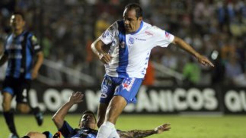 Cuauhtémoc Blanco empató el partido con un penal de último minuto.
