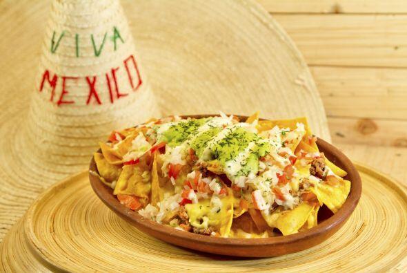 NACHOS SALUDABLESAdemás de saborear lo 'mexicanísimo' en los nachos podr...