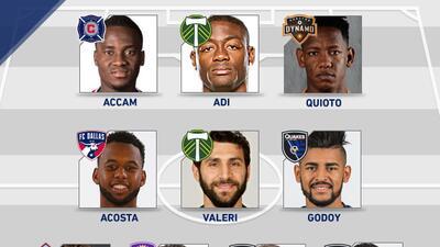 Equipo de la Semana 1 de la MLS