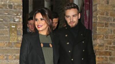 Cheryl Cole y Liam Payne, ayer martes en Londres