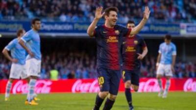 Messi le ha hecho gol a todos los equipos de primera en esta temporada.