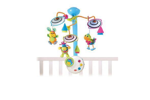Móvil. Este juguete llamará su atención, y le enseñará a tu bebé a enfoc...