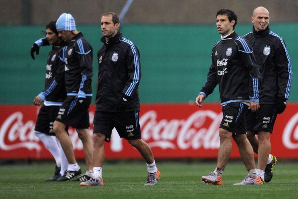 Javier Mascherano, Esteban Cambiasso, que vuelve a la selección, Pablo Z...