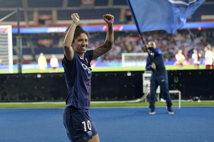 La brasileña Cristiane es la cuota goleadora del PSG con 6 goles y 2 asi...