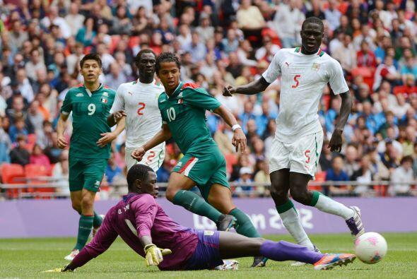 Pero en los Cuartos de Final contra Gabón, 'Gio' logró un tanto fundamen...