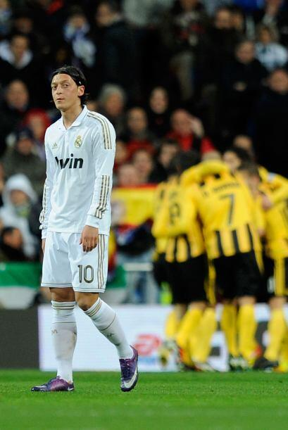 El español aprovechó un descuido de Pepe y marcó el 1 a 0.