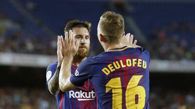 Barcelona golea al Chapecoense y se lleva el Joan Gamper