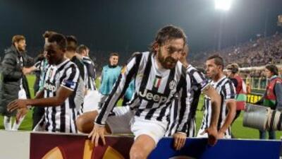 Pirlo definió la eliminatoria ante Fiorentina en favor de la 'Juve'.