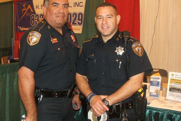 Ni siquiera los oficiales de la Oficina del Alguacil del Condado Harris...