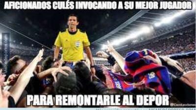 Los memes se burlan del Barcelona por perder con el Deportivo La Coruña
