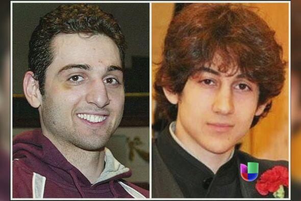 Los hermanos Tsarnaev, Dzhokhar y Tamerlan, perpetradores del atentado c...