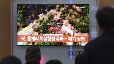 Corea del Norte anuncia que ha desmantelado su base de pruebas nucleares