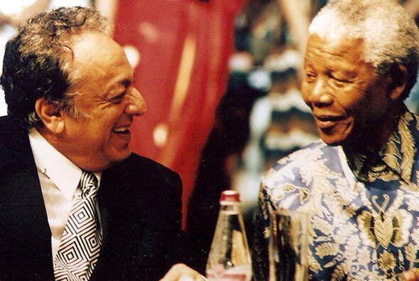 José Sulaimán y Nelson Mandela fueron grandes amigos.