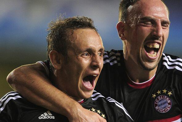 Toni Kroos y Márcio Ferreira de Souza anotaron para el conjunto alemán q...