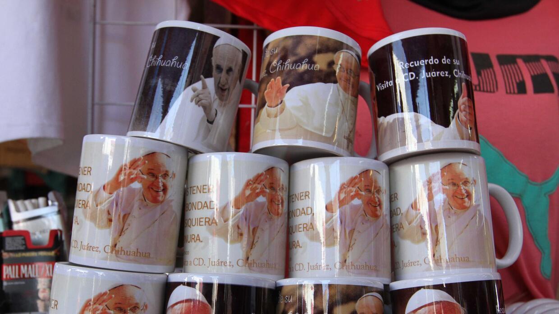 Tazas de El Papa Francisco