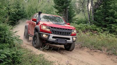 Chevrolet prepara bienvenida a la Ford Ranger Raptor con esta nueva Colorado ZR2 Bison