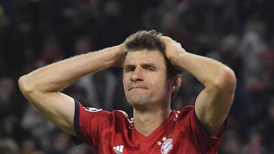 En fotos: Bayern no pudo con el Ajax, que celebró como un triunfo el empate en Múnich