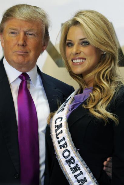 Carrie fue criticada por su postura, aunque tanto ella como Donald Trump...