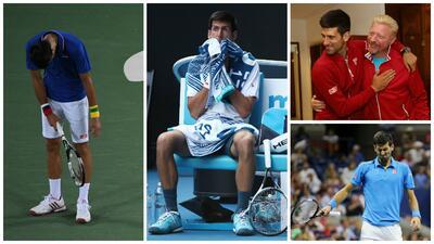 La razón detrás del derrumbe de Novak Djokovic según Boris Becker