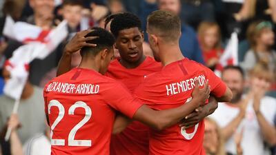 En fotos: Inglaterra derrotó 2-0 a Costa Rica con claridad y se consolida para el Mundial