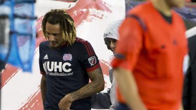 Jermaine Jones sale lesionado del partido ante LA Galaxy