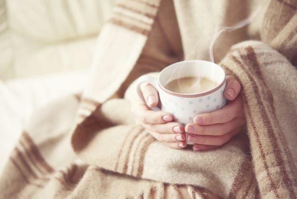 Bebidas calientes. Cuando bebes un té o un café, sientes c...