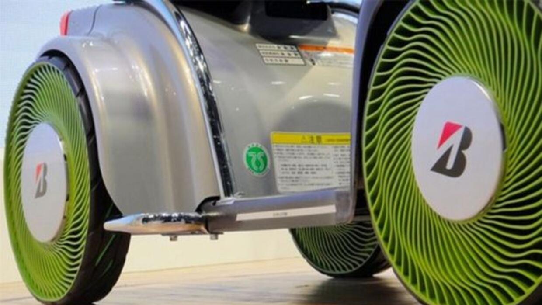Bridgestone está desarrollando neumáticos sin aire.