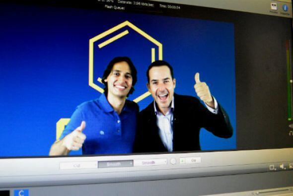 Nuestro Carlitos Calderón, presentador del Gordo y la Flaca, arquitecto,...