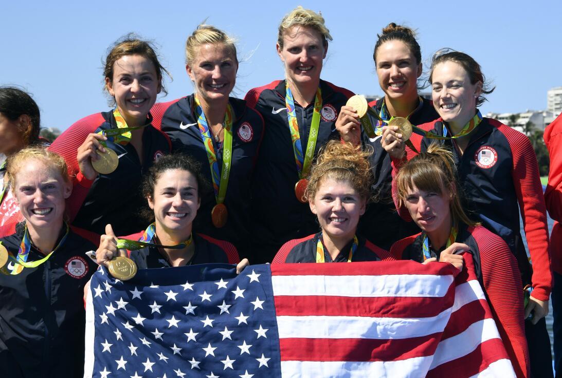 Amanda Polk (Estados Unidos) - fue medalla de oro en Río 2016 en la pru...