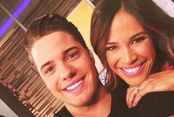"""Con mi @KarlaMartinezTV en @DespiertaAmeric"", compartió William Valdes...."