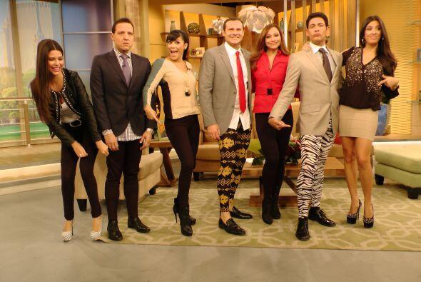 Querido público, ¿cómo lucen nuestros presentadores...