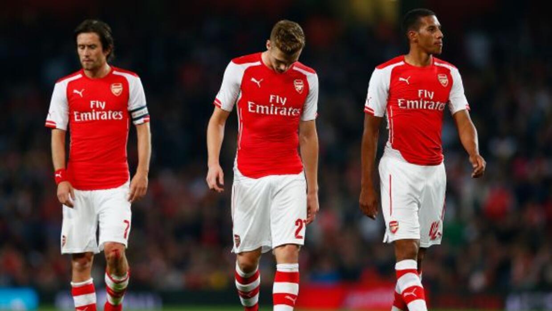 Los Gunners cayeron sorpresivamente ante el Southhampton en la Copa Capi...