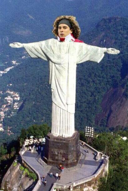 Otra del Cristo Redentor. Todo sobre el Mundial de Brasil 2014.