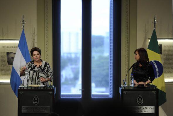 La Casa de Gobierno de Argentina abrió sus puertas para darle la bienven...