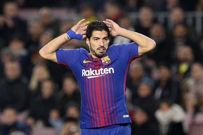 13. Luis Suárez (Barcelona / Uruguay)